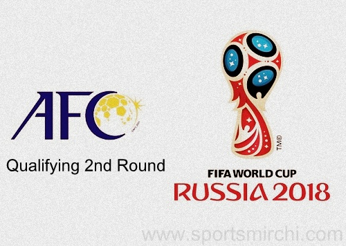 2018 FIFA World Cup Qualification - AFC Round-2 Schedule, Fixtures.