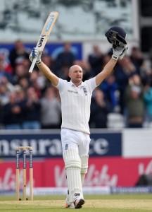 Adam Lyth scored maiden test hundred vs New Zealand at Leeds.