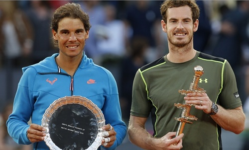 Andy Murray upsets Rafael Nadal to win Madrid Open 2015.