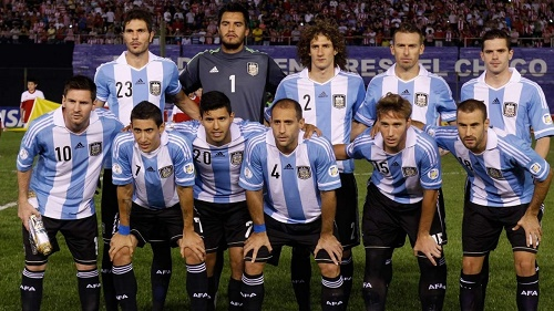 Argentina 23-man squad confirmed for Copa America 2015.