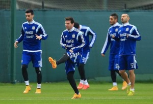 Argentina named preliminary roster for Copa America 2015.