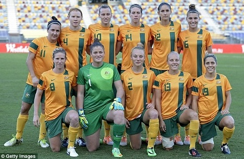 Australia 23-women Roster for Women's FIFA World Cup 2015.
