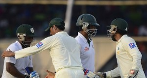 Bangladesh ends 1st test at draw against Pakistan in Khulna