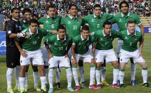 Bolivia 30-men preliminary squad for Copa America 2015.