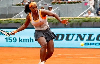 Halep, Venus out from Madrid Open; Serena, Maria through to second round.
