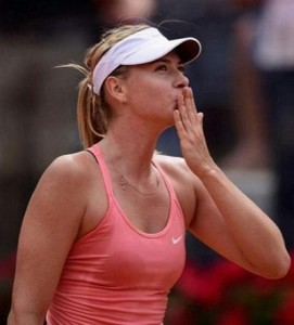 Maria Sharapova wins 2015 Rome Masters Title.