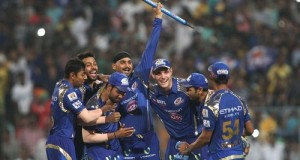 Mumbai Indians beat Chennai Super Kings to win 2015 IPL
