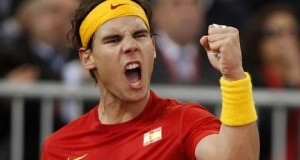 Nadal Receives Gold Medal from Spanish PM Mariano Rajoy