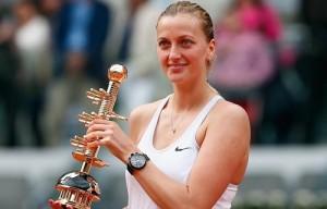 Petra Kvitova claims Mutua Madrid Open Title in 67 minutes.