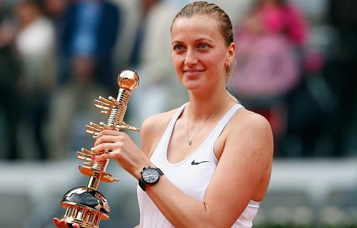 Petra Kvitova claims Mutua Madrid Open Title in 67 minutes.