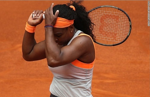 Petra Kvitova ends Serena storm at Madrid Open Semi-Final.