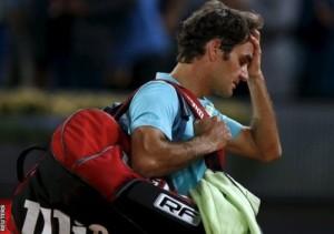 Roger Federer faced upset in round-2 of Madrid masters 2015.