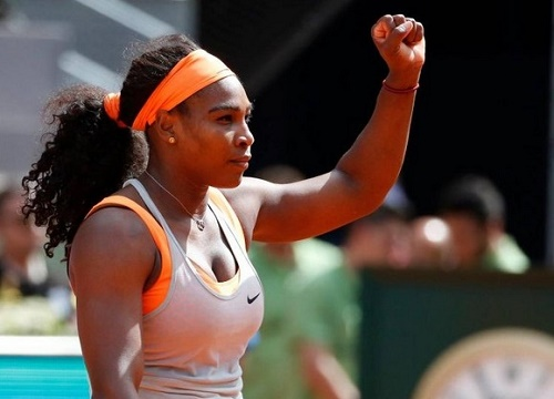 Serena Williams qualified to Madrid Open 2015 Semi-Final.