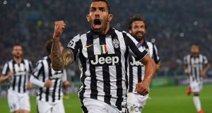 Tevez goal gives Juventus advantage against Real Madrid in UCL semi-final