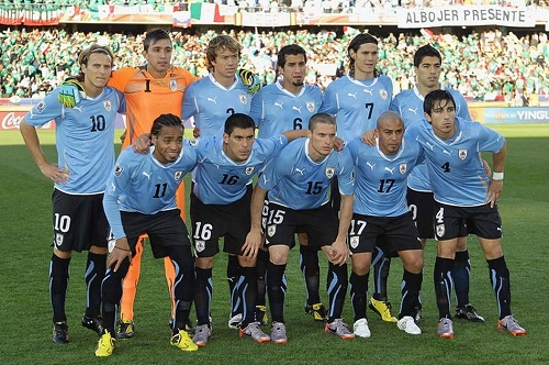 Uruguay 23-men squad for Copa America 2015.