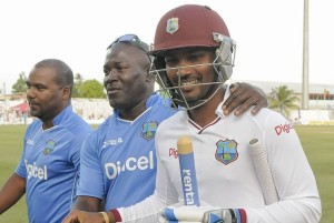 West Indies named squad for 1st test vs Australia at Dominica.