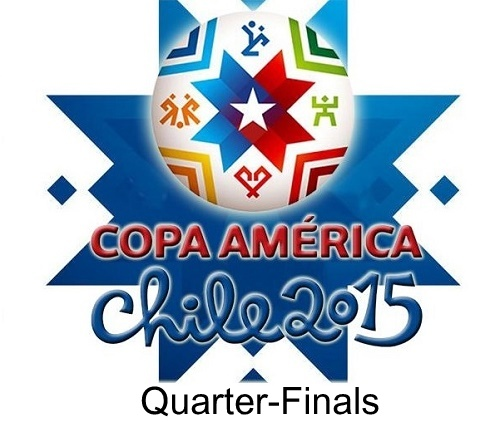 2015 Copa America Quarter-finals Fixtures, Schedule, Teams.