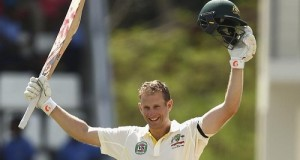 Adam Voges hits century in his maiden test cricket innings