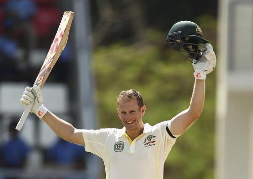 Adam Voges hits century in his maiden test cricket innings.