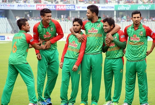 Bangladesh announced squad for Indian series 2015.
