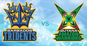 Barbados Tridents v Guyana Amazon Warriors Preview 2015 CPL