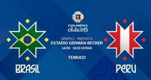 Brazil vs Peru Live Streaming, Telecast, Score 2015 Copa America