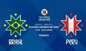 Brazil vs Peru Live Streaming, Telecast, Score 2015 Copa America.