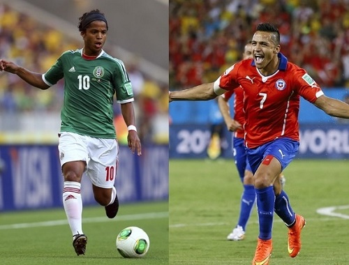 Chile vs Mexico Live Streaming, Score and Preview 2015 Copa America.