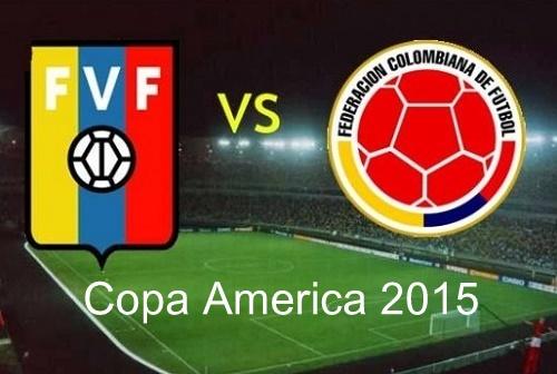 Colombia vs Venezuela Live Streaming, Telecast 2015 Copa America.
