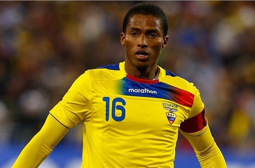 Ecuador named 23-man squad for 2015 Copa America at Chile.