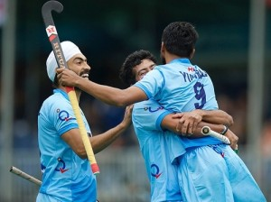 India beat Poland by 3-0 in the Hockey World League semi-finals.