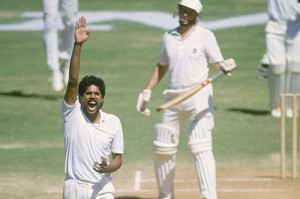 Kapil Dev took less matches to reach 400 test wickets.