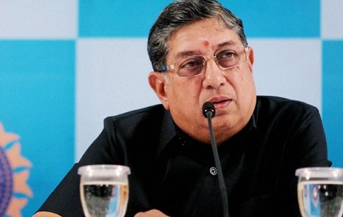 N Srinivasan becomes TNCA President, he resigns as director of India Cements.