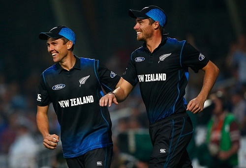 NZ beat ENG in high scoring rain effected 2nd ODI at London.