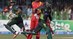 Pakistan won ODI series by 2-0 against Zimbabwe as 3rd ODI washout