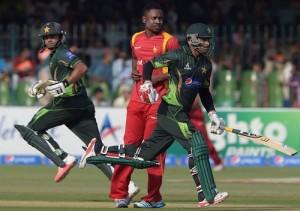Pakistan won ODI series by 2-0 against Zimbabwe as 3rd ODI washout.