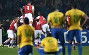 Paraguay stunned Brazil in Copa America quarter-final, beat them by 4-3 in penalties.