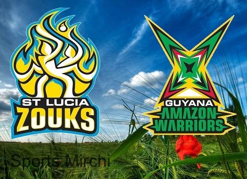 St Lucia Zouks vs Guyana Amazon Warriors Preview 2015 CPL.