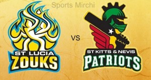 St Lucia Zouks vs St Kitts & Nevis Patriots Preview match-4 CPL 2015