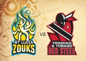St Lucia Zouks vs Trinidad Tobago Red Steel Preview 2015 CPL.