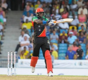St. Kitts & Nevis Patriots beat Barbados Tridents by 1 run.