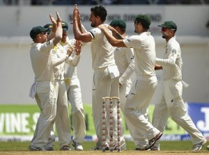 West Indies vs Australia 2015 second Test Day-2 Report.