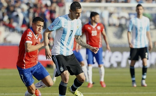 Angel Di Maria failed to preform in Copa America Final 2015.