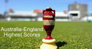 Ashes History: Highest Scores by England and Australia
