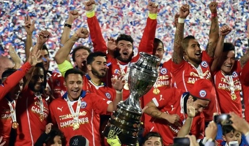 Chile beat Argentina on penalties by 4-1 to win Copa America first time.