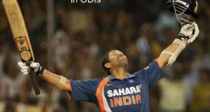 Do you know Sachin didn't hit First Double Hundred in ODIs