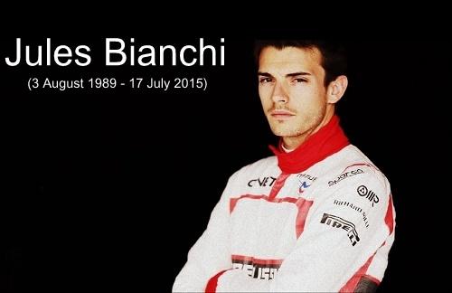 F1 Driver Jules Bianchi passes away after 9 months of Suzuka crash.