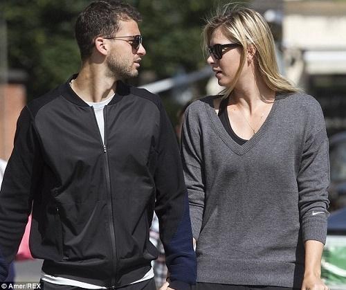 Maria Sharapova breakups with boyfriend Grigor Dimitrov.