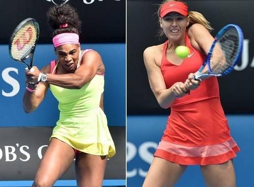 Maria Sharapova vs Serena Williams Live Wimbledon Semi-final 2015.