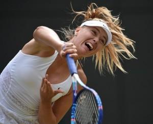 Sharapova vs Vandeweghe 2015 Wimbledon Quarterfinal Live.